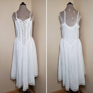 Vintage Cotton Victoria's Secret Chemise Nightgown